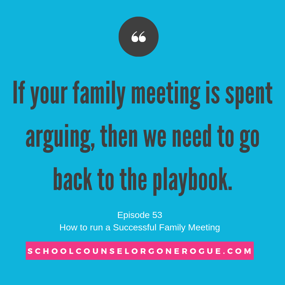 Are you using family meetings the right way in your home? What is your purpose? What is the tone you use when conducting meetings? We cover all of this and more in this week's episode of School Counselor Gone Rogue!  Check it out on Apple Podcasts, IheartRadio, Stitcher and more!    Marni Pasch - Team Pasch Academic Coaching    Podcast - School Counselor Gone Rogue    www.teampasch.com