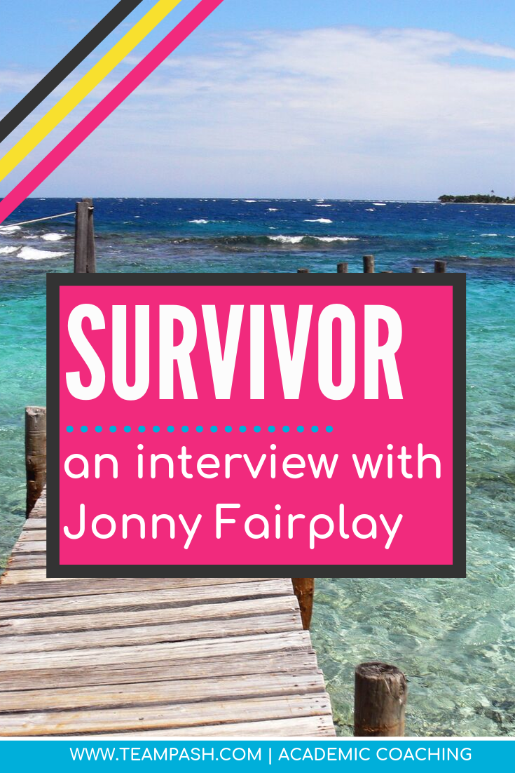 Love all things Survivor? What is Survivor's most famous villain Jonny Fairplay doing now? Listen to this episode of School Counselor Gone Rogue to learn about Survivor player Jonny Fairplay.   Marni Pasch - Academic Coach Team - Pasch Academic Coach  Podcast School Counselor Gone Rogue   www.teampasch.com