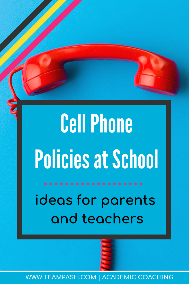 The pros and cons of cell phone use at school, and how to implement helpful practices for your teenager. Click here for more!   Marni Pasch - Academic Coach Team - Pasch Academic Coach  Podcast School Counselor Gone Rogue   www.teampasch.com