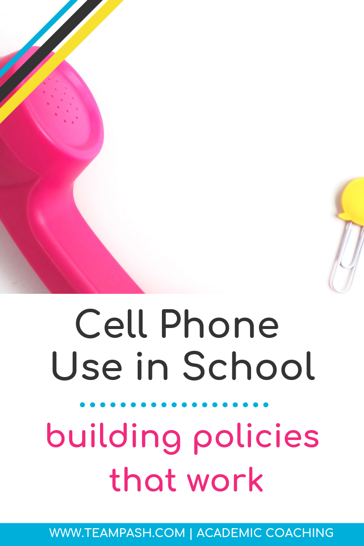 Should your teen use a phone in school? What rules should parents and teachers have surrounding cell phone use? Click here for simple things to discuss before deciding the rules around cell phones.   Marni Pasch - Academic Coach Team - Pasch Academic Coach  Podcast School Counselor Gone Rogue   www.teampasch.com