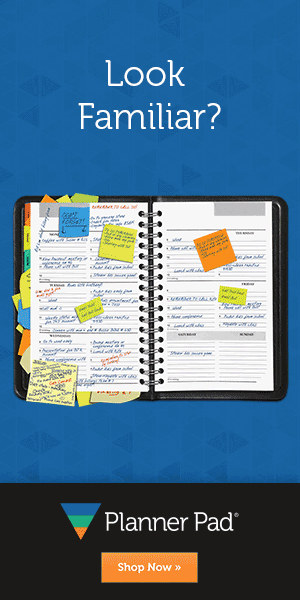 Planner Pad Organization Planner