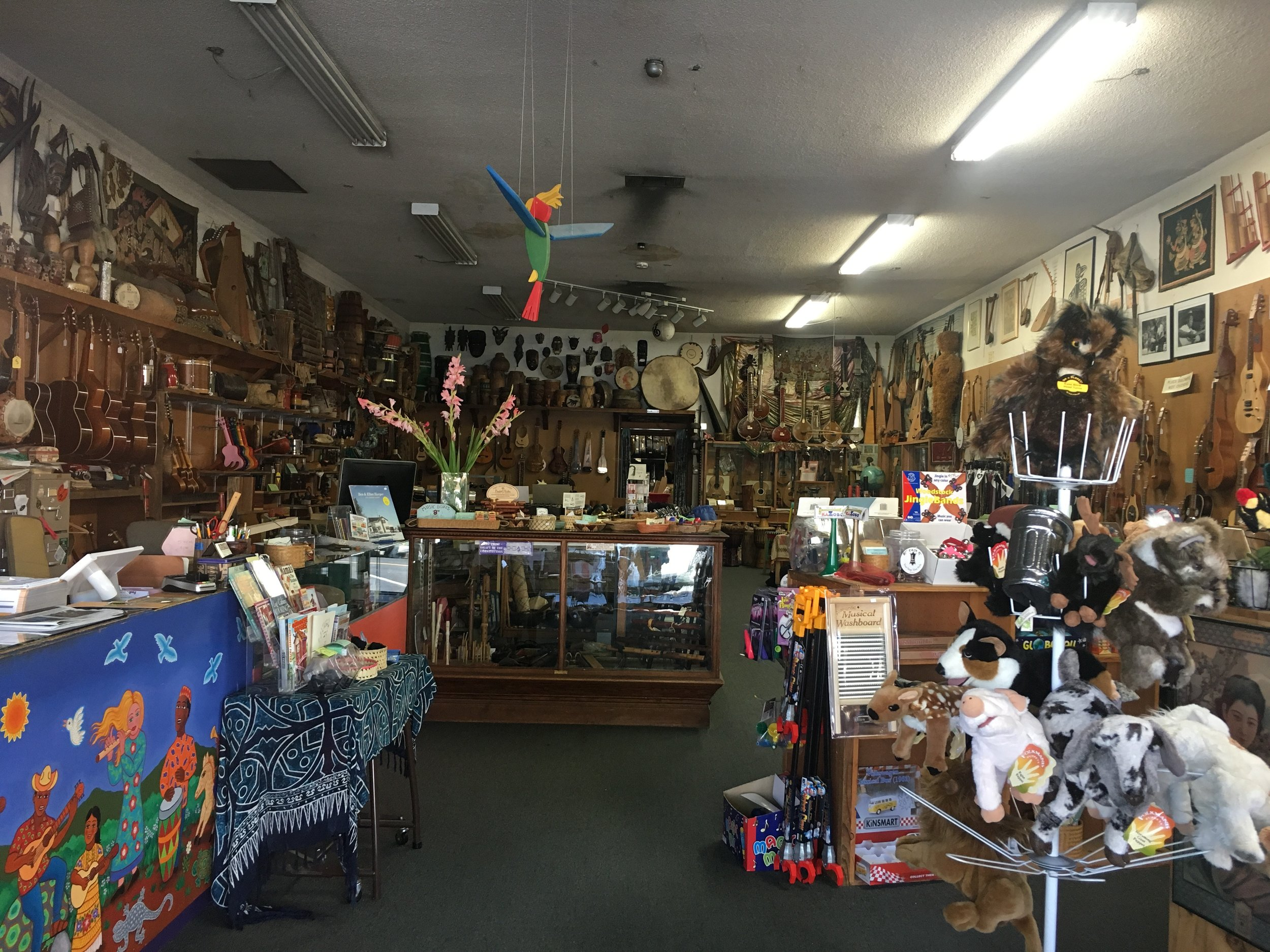 Folk Music Center on Yale Avenue (this shop is actually owned by Ben Harper's parents!).