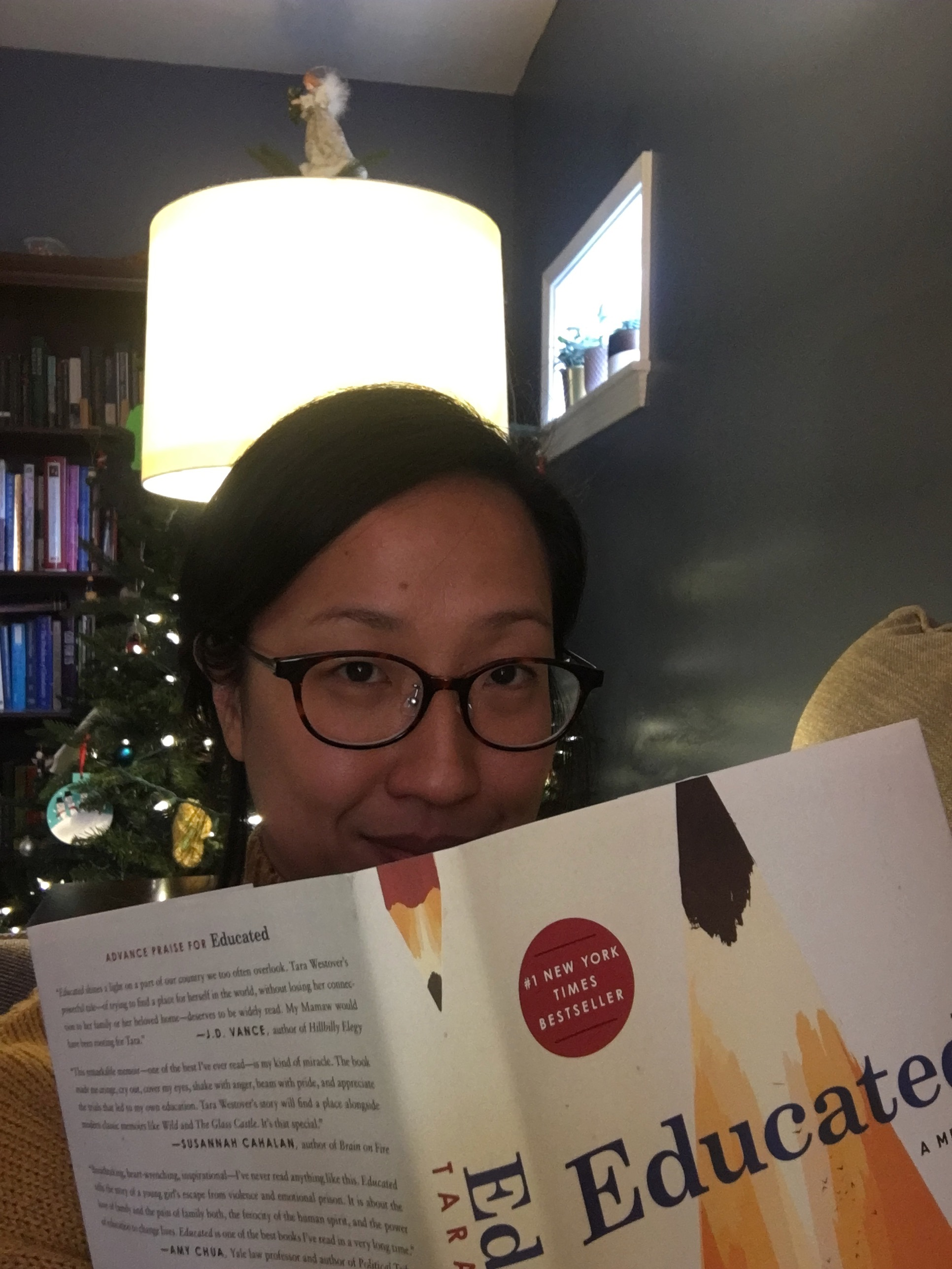 Spent a morning at La Jolla's independent bookstore,  Warwick's , and couldn't resist this season's most popular memoir, Educated by Tara Westover. I bought it and devoured it in two days.