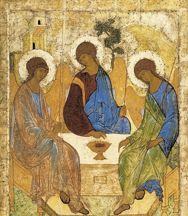 """""""The Trinity"""" by Andrei Rublev"""