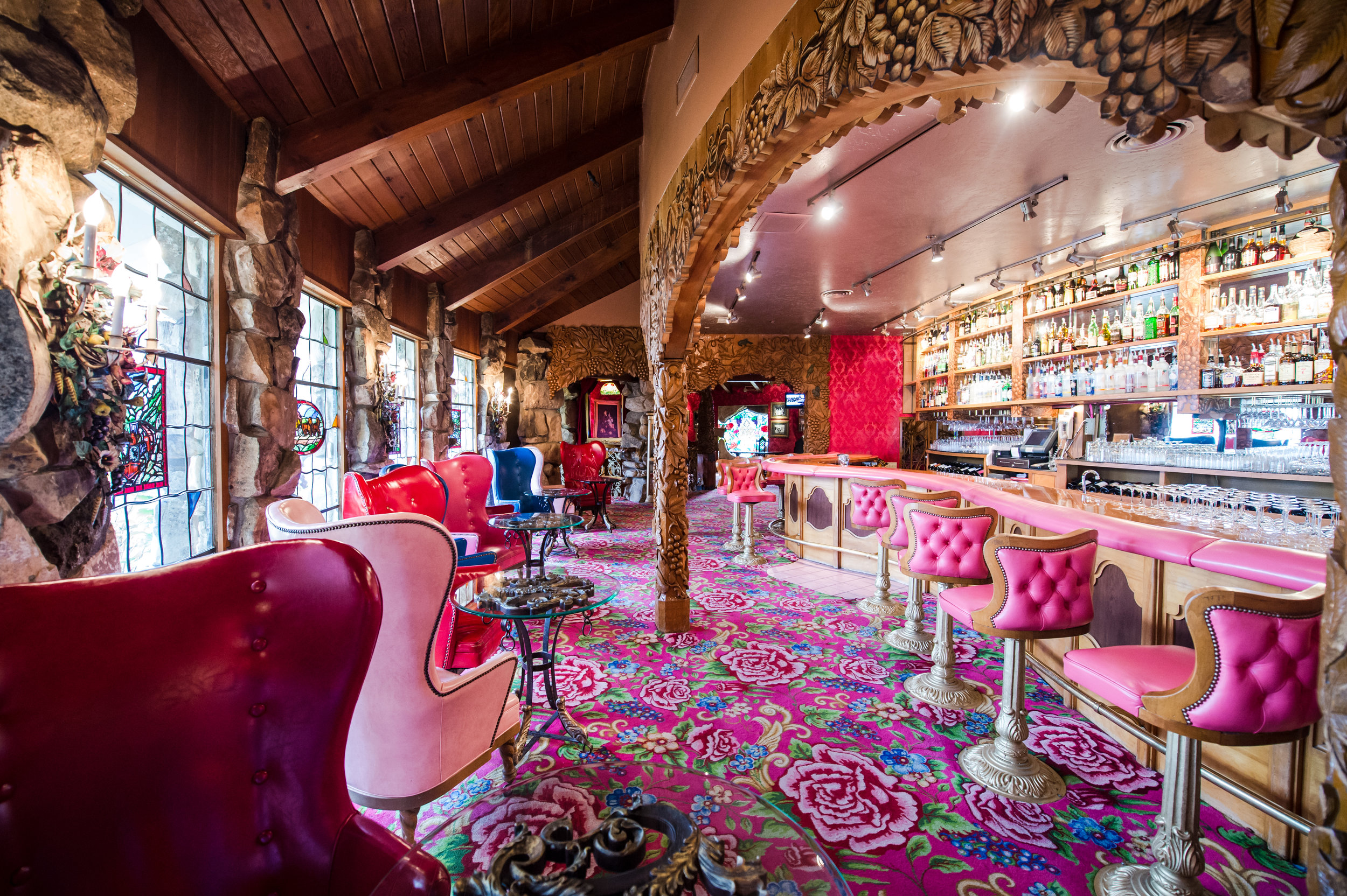 Madonna Inn Silver Bar Cocktail Lounge