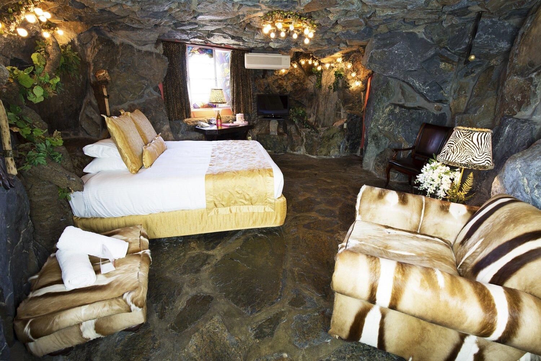 Room 137 Caveman Madonna Inn