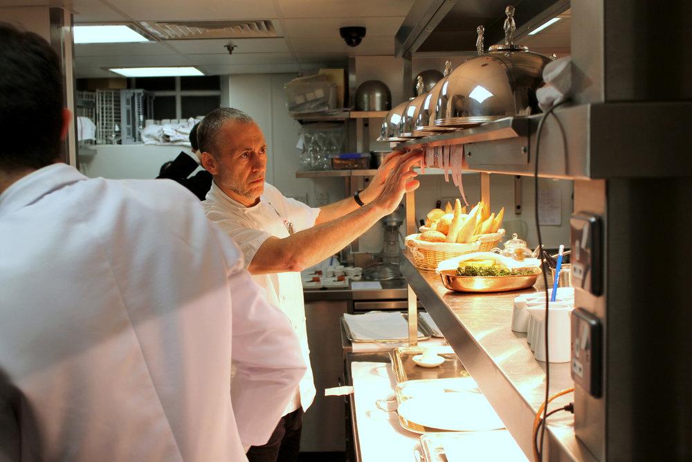 Chef Patron: Michel Roux Jr. - Cuisine: Classic FrenchMichelin: Two StarsAA: Four RosettesTwitter: @michelrouxjrInstagram: @le_gavroche_restaurantAddress: 43 Upper Brook St, Mayfair, London W1K 7QR Phone: 020 7408 0881 Website: le-gavroche.co.uk