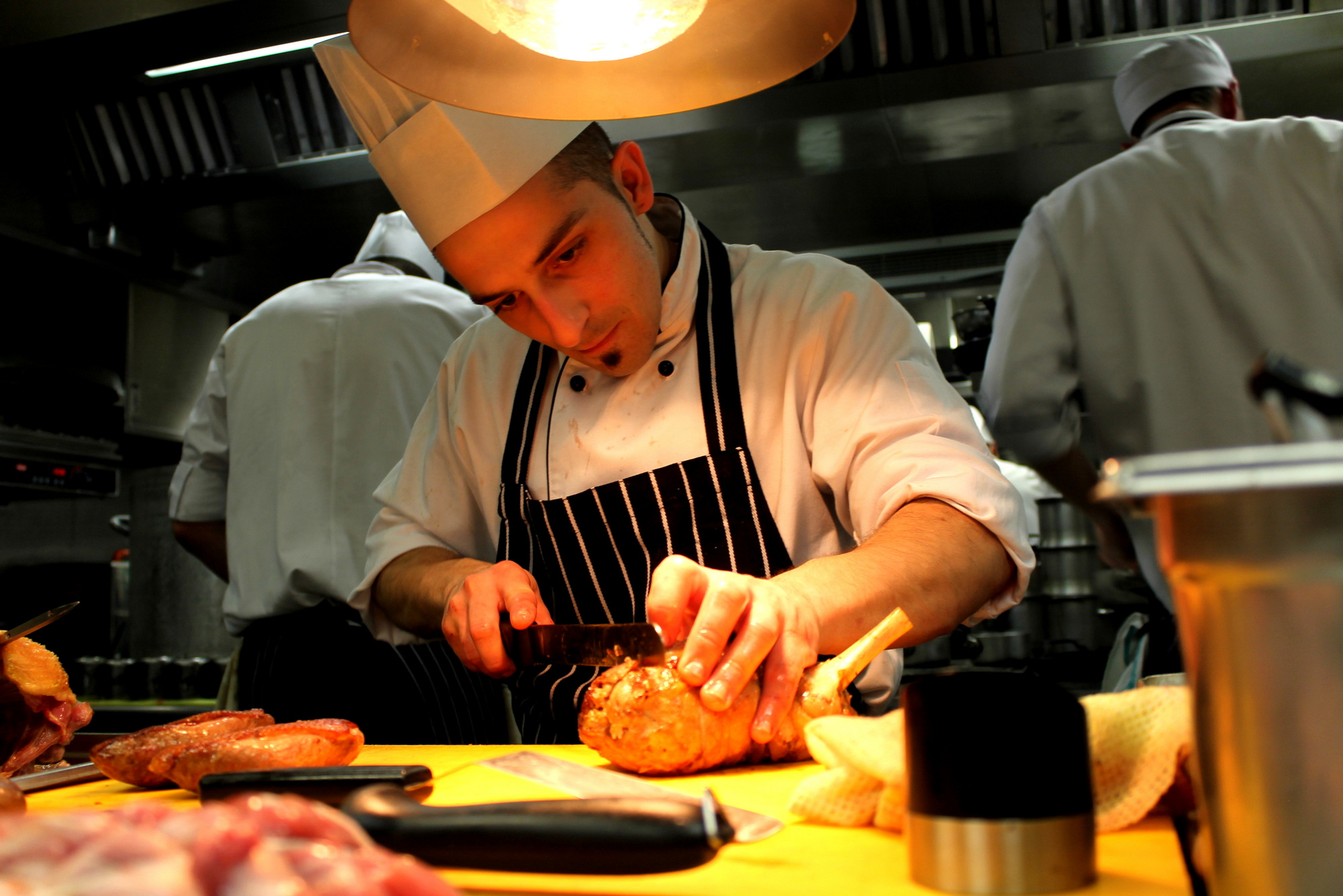 Staging in a Three Michelin-Starred Restaurant -