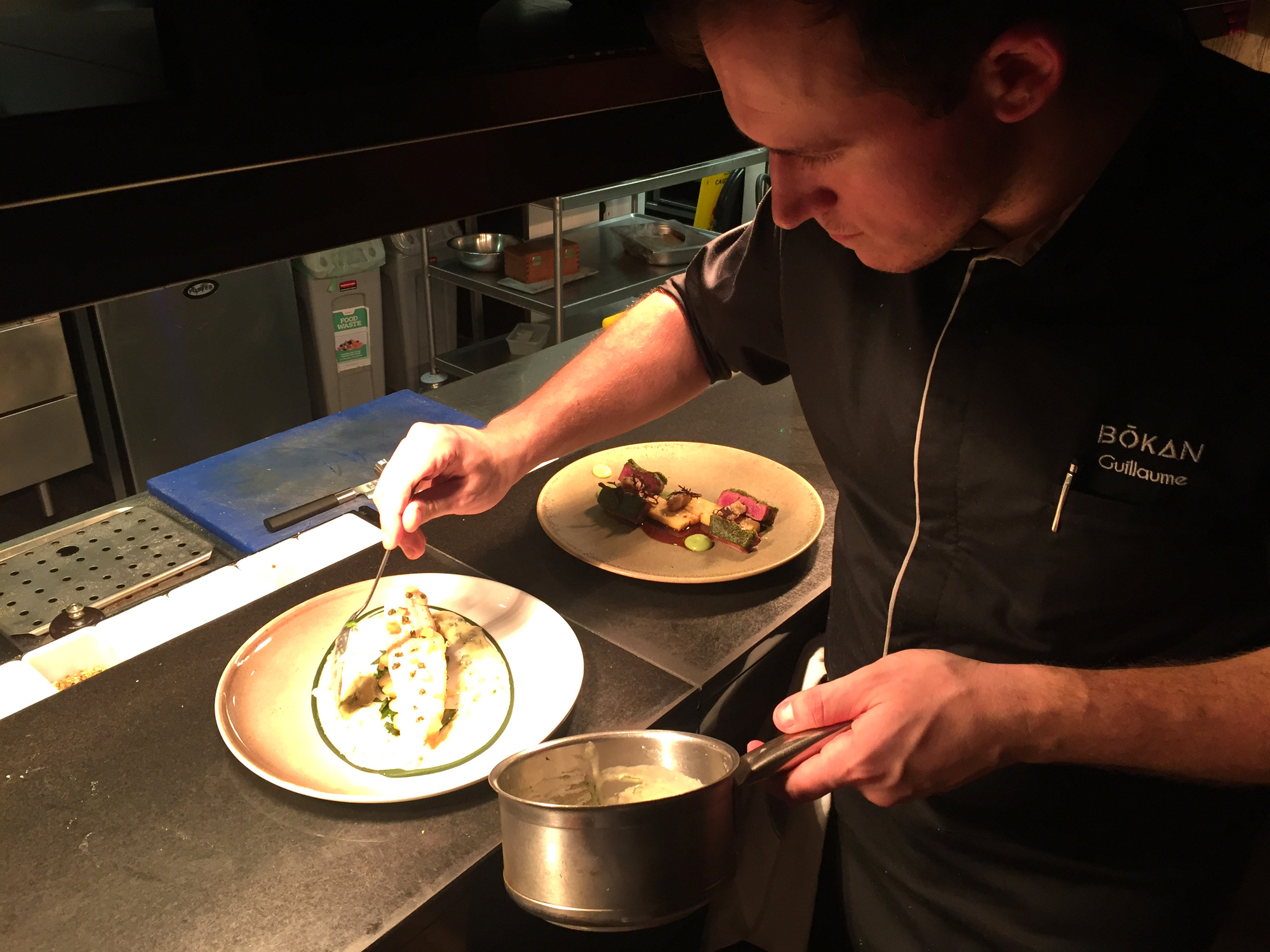Guillaume plating at the pass