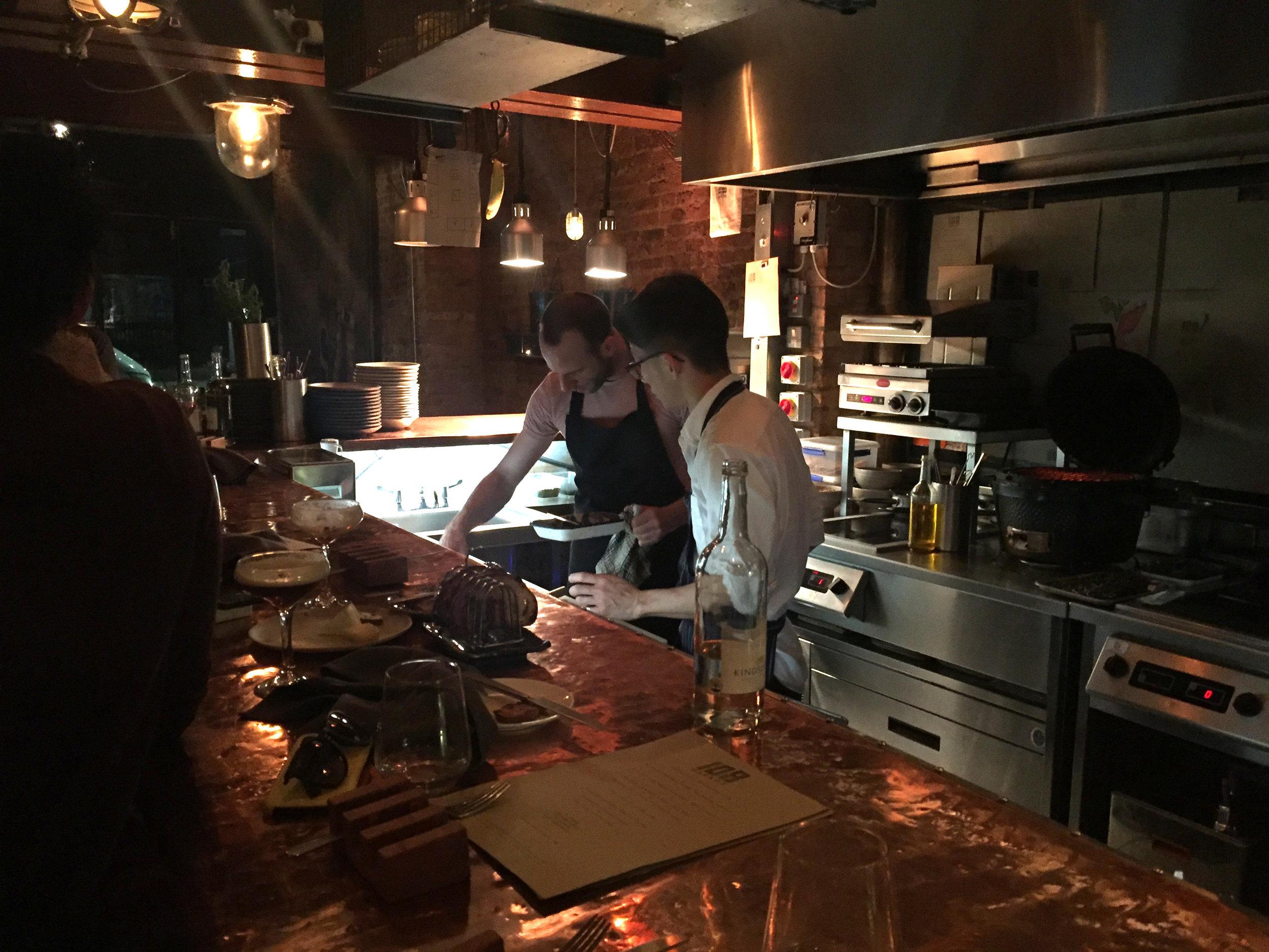 Executive Chef:Chris Denney - Cuisine: Modern European/AsianTwitter: @108GarageInstagram: @108garageAddress: 108 Golborne Rd, London W10 5PSPhone: 020 8969 3769Website: 108garage.com