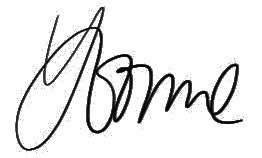 yvonne signature