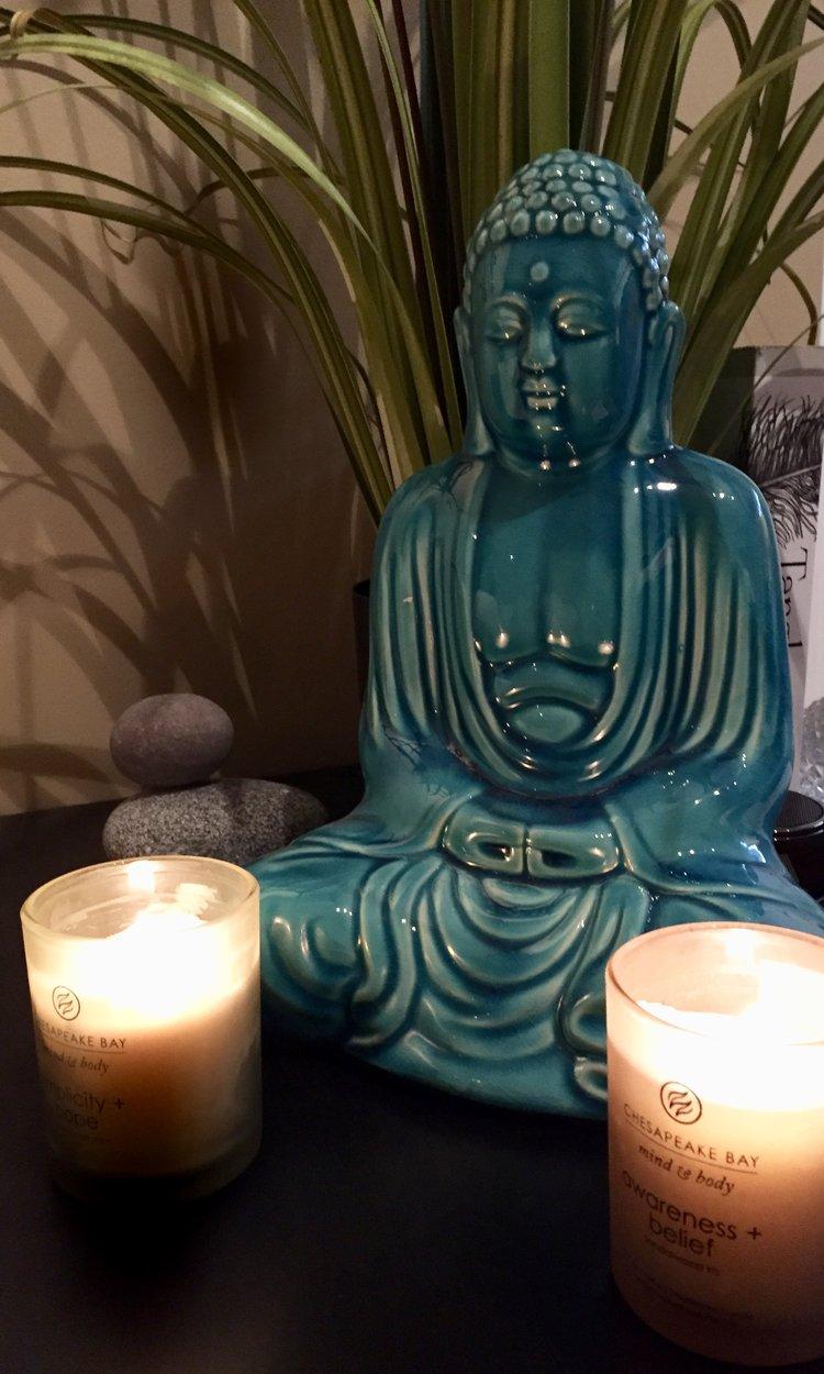 My meditation corner