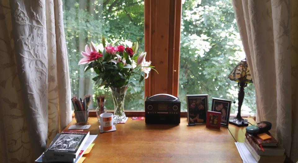 My writing place