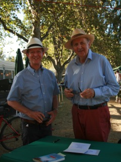 With Alexander McCall Smith