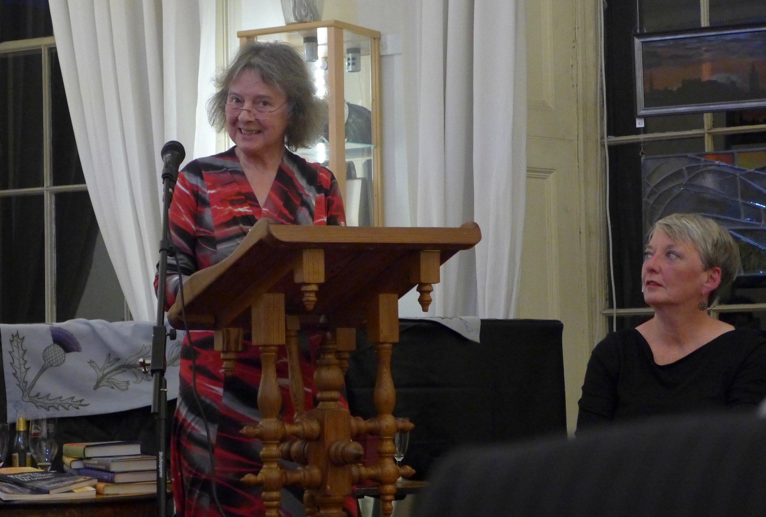 Glenys McLaren talks about Mara Buck's story 'Trophy'