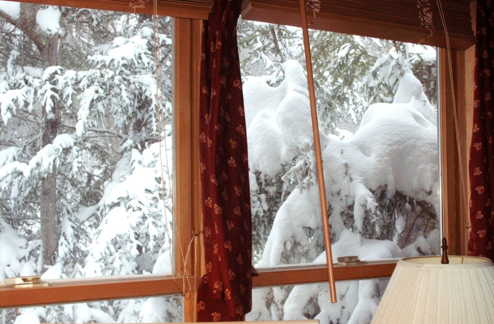 The winters are long and a perfect excuse for writing, and writing, and writing.