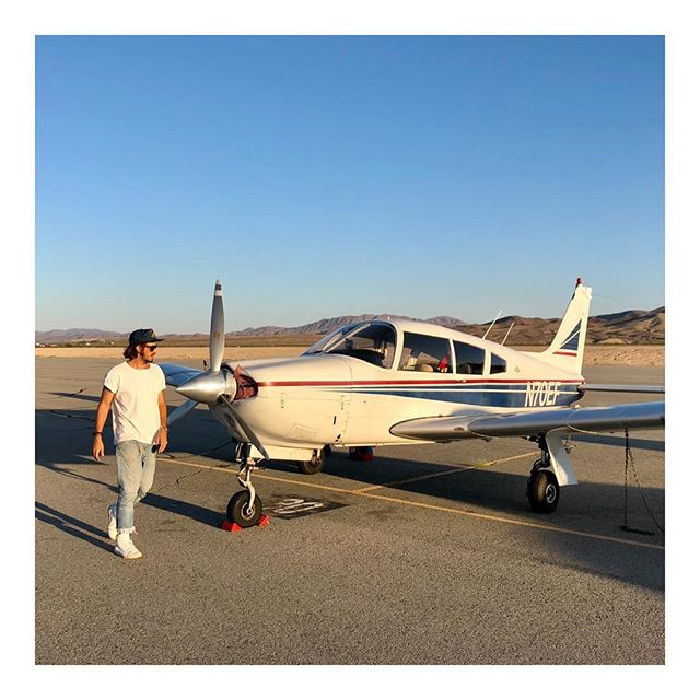 """I fly because it releases my mind from the tyranny of petty things"" — Antoine de Saint-Exupéry 