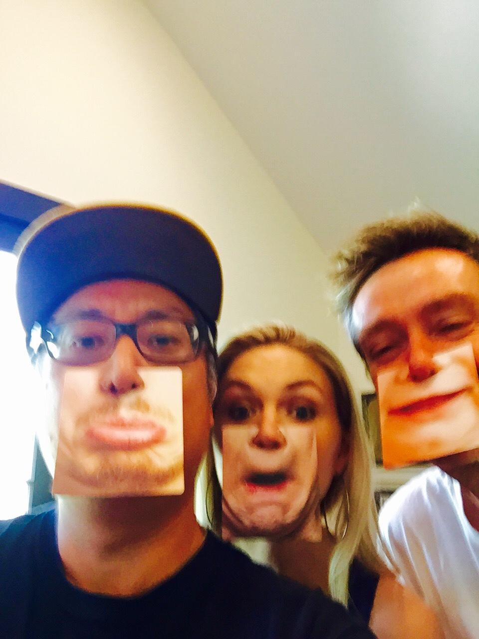 Nashville writing session with Lindsay Rae & Boots Ottestad