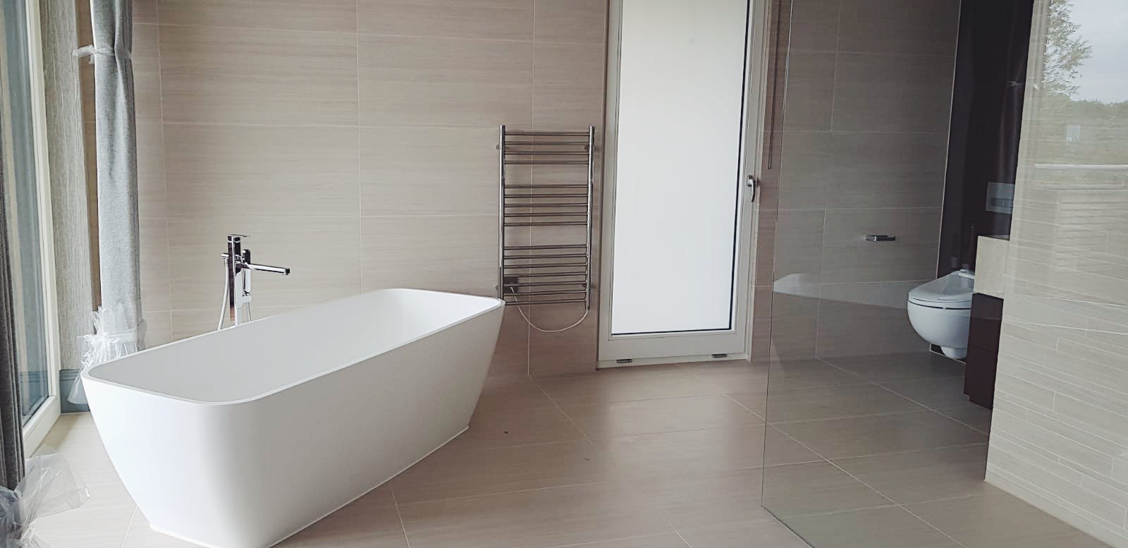 Newly installed luxury Bathroom - Sept 2019.