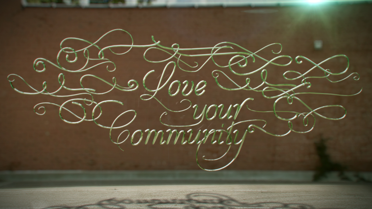 Compositing 3D Text and Live Action with CINEWARE in After Effects and CINEMA 4D