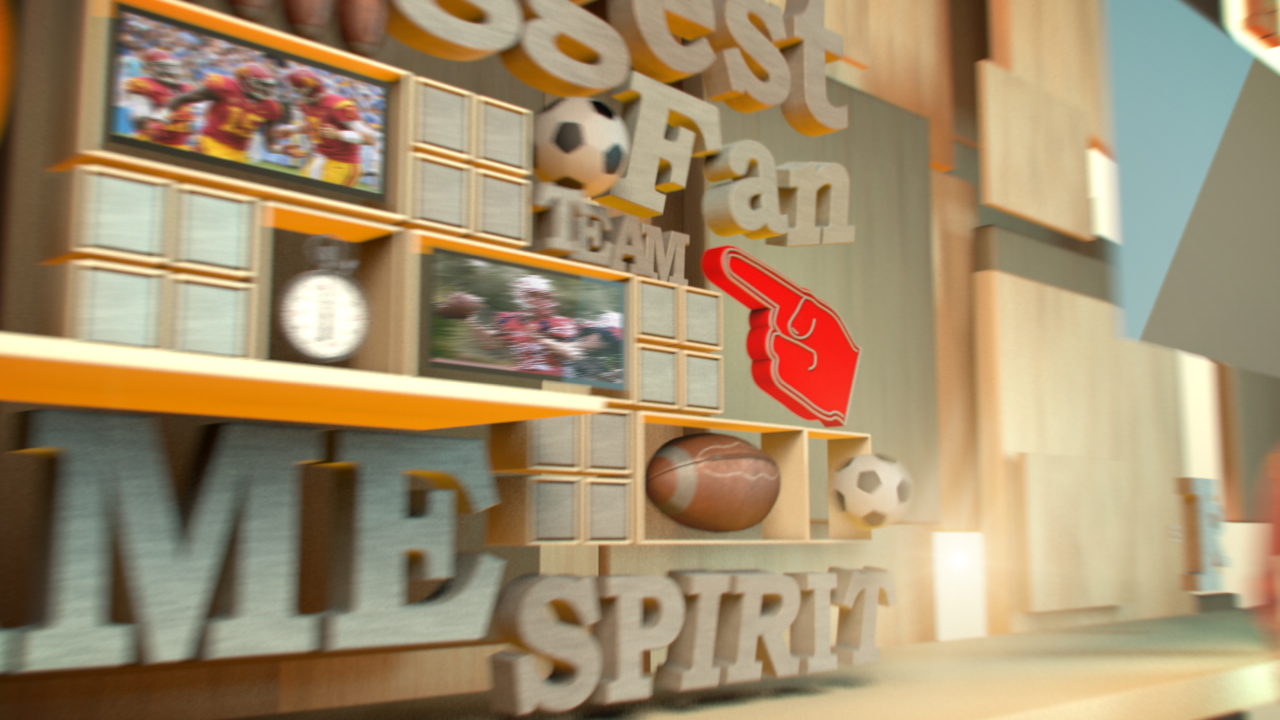 Using MoGraph Effectors to Create a Sports Opener in CINEMA 4D