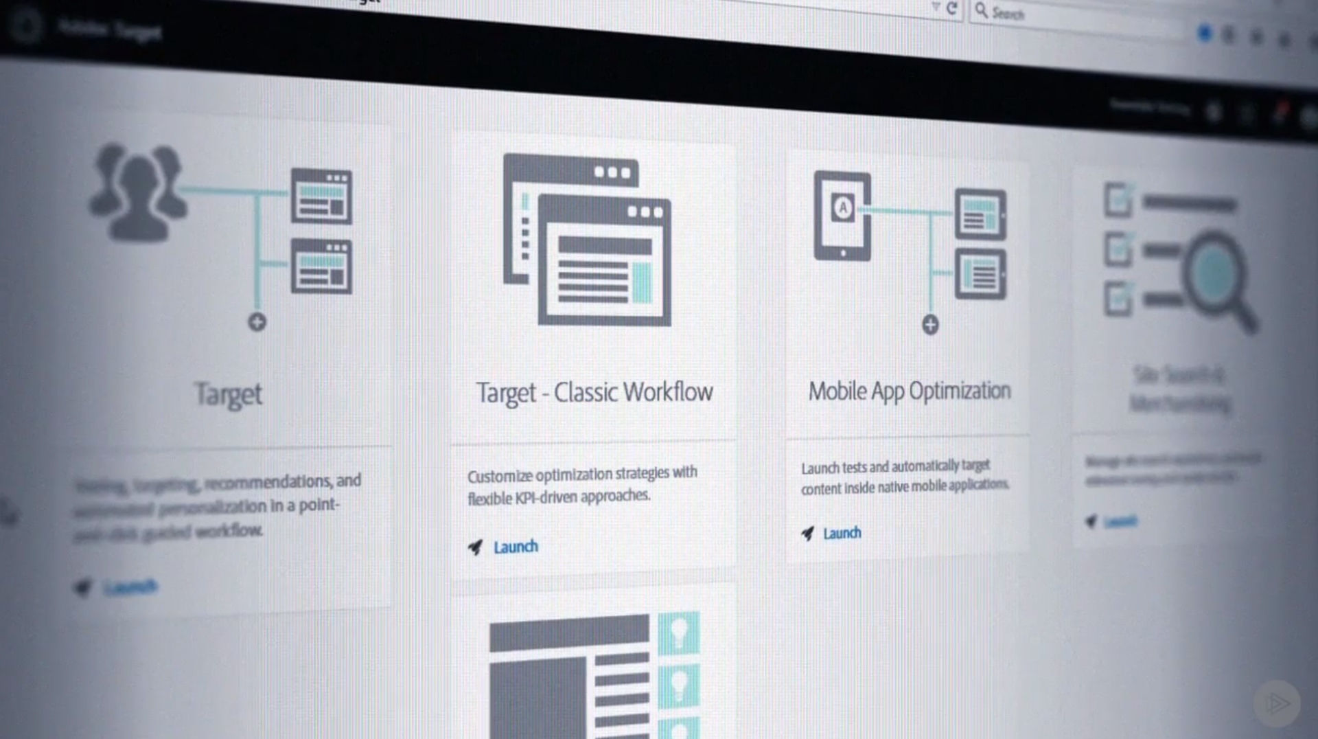 Adobe Target Automated Personalization