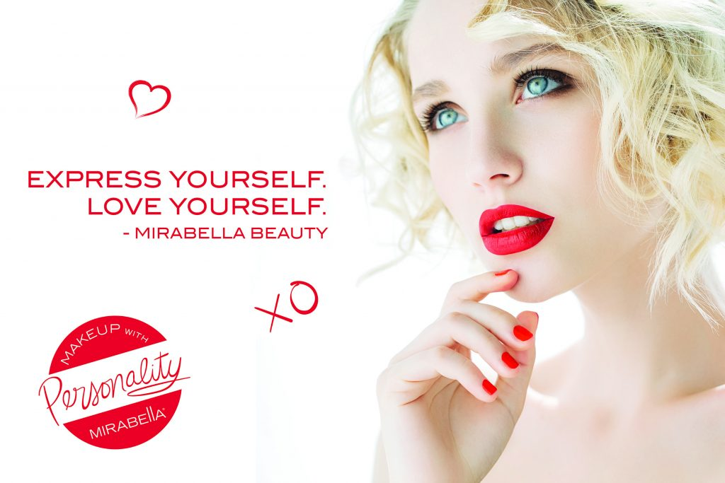 Mirabella - Mirabella was conceived and developed in 2001 by makeup artists for makeup artists from a desire to provide quality cosmetic products, professional artistry tools and accessories for use and retail sale in fine hair salons and spas. Mirabella products are designed with fresh and classic beauty looks in mind and it is the mission of their company and its creators to enhance the natural beauty of women with easy-to-apply timeless colors.*all make-up purchases are final.