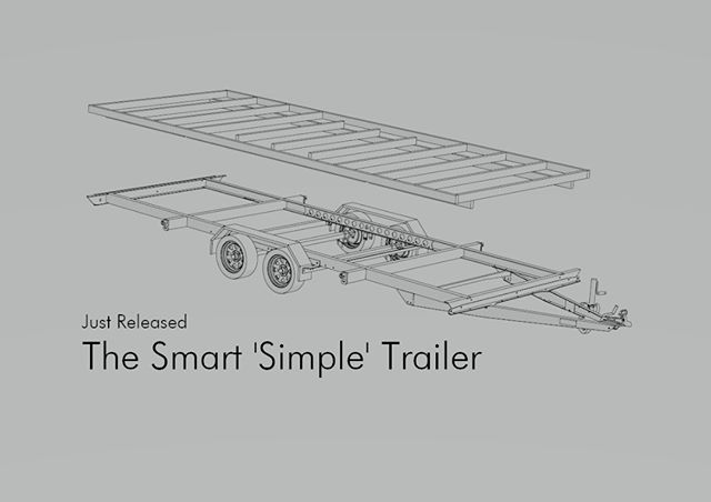 We have released another new trailer model to the range! Again based from the smart trailer architecture meaning all the sweet features. The 'Simple' is designed to use a thicker timber or SIP subfloor that is structural. This cheaper trailer is great for the DIYer looking for a thermal house and wanting to get their hands dirty. Message us for more details or see the link in the bio. . Photo description. #tinyhouseonwheels #tinyhouses #tinyhousebuild #tinyhousedesign #tinyhousemovement #tinyhouseliving #tinyhouselife #tinyhousecommunity #tinyhousebigliving #tinyhouseideas #tinyhousebuilder #tinyhouseconstruction #tinyhousebuilders #tinyhousebuilding #tinyhouseproject #tinyhousefoundation #tinyspace #tinyliving #trailer #tinytrailer #minimalism