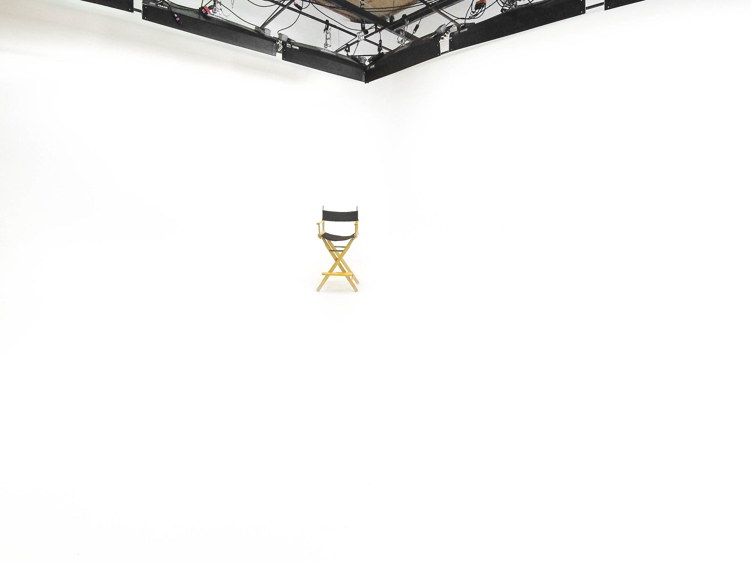 Originator Studios also features a seamless white backdrop.