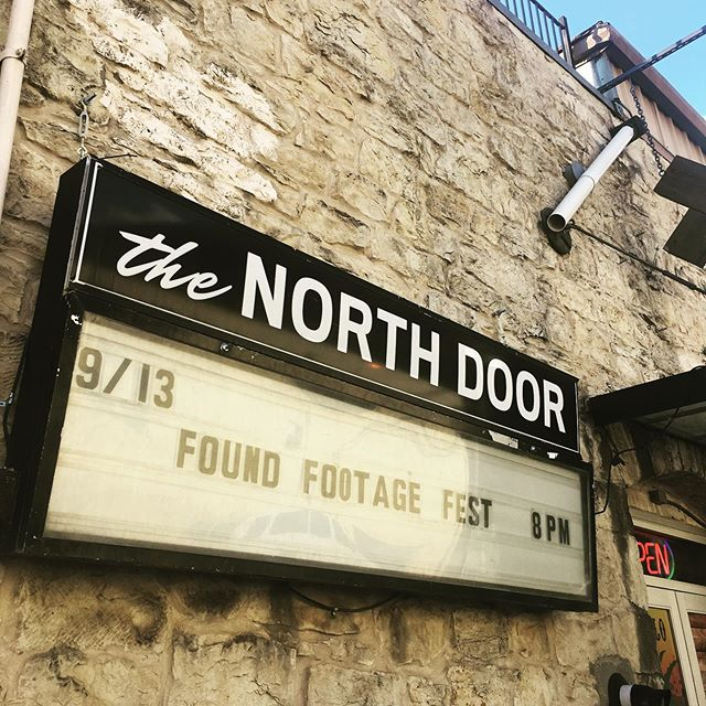 Shooting @foundfootagefestival tonight! #austintexas Come laugh like you've never laughed before!