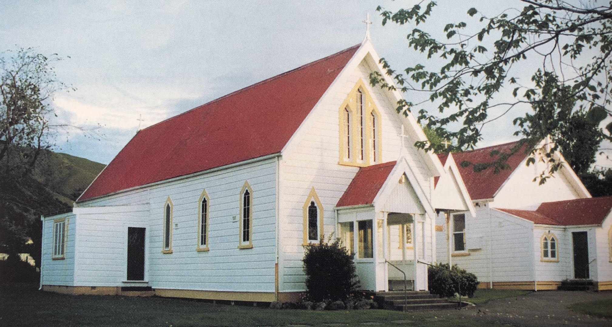 Before it was moved, the Lady Chapel used to be the parish church in Paraparaumu
