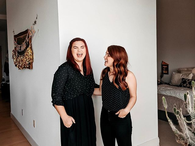 MFW we dress alike. I second shot with the fabulous @brittnibell today. In our uniform. It was the best and I can't wait to call Denver home and shoot all the weddings in polka dots and flowy skirts.