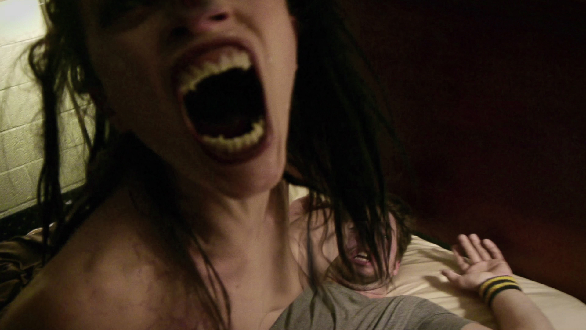 "Hannah Fierman in ""Amateur Night"" in  V/H/S , a Magnet Release. Photo courtesy of Magnet Releasing."