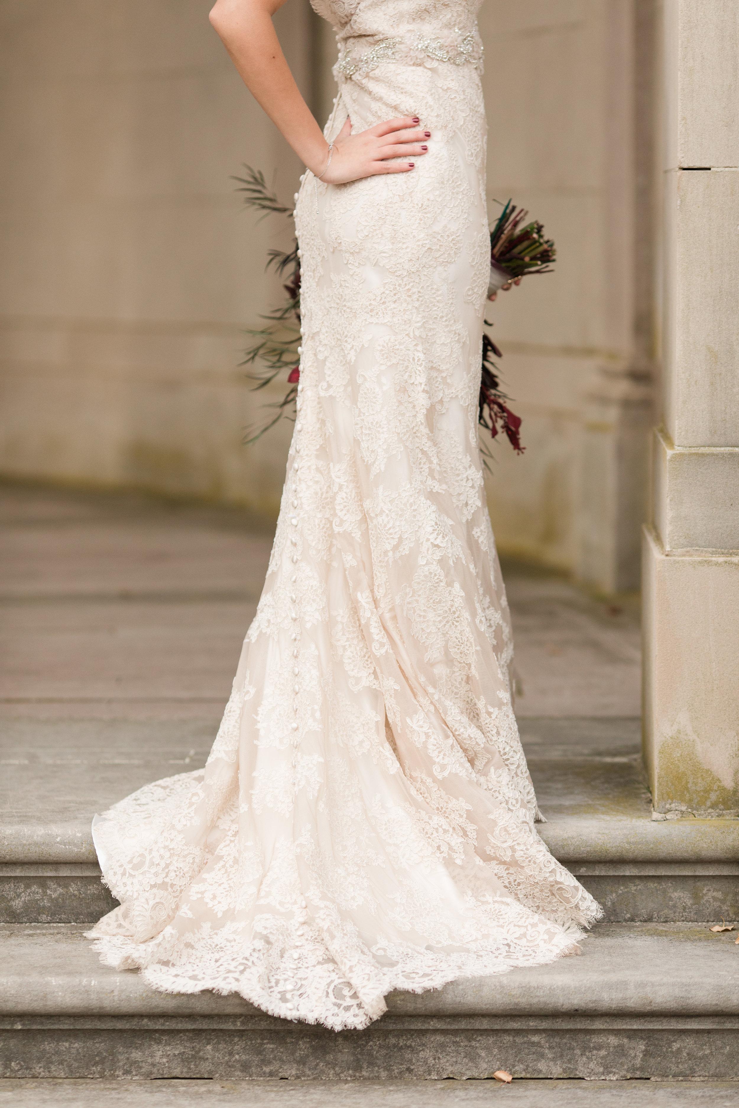 allure bridal lace wedding dress