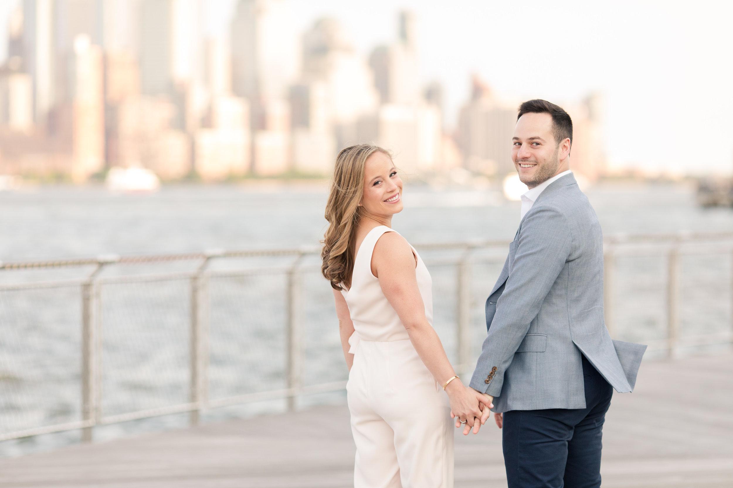 Alyssa & Al, Hoboken Engagement, May 2018