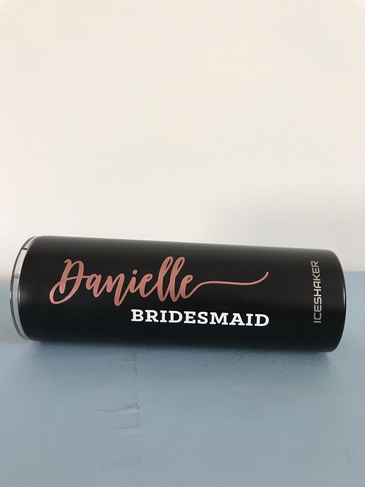 Customized bridesmaid gift idea