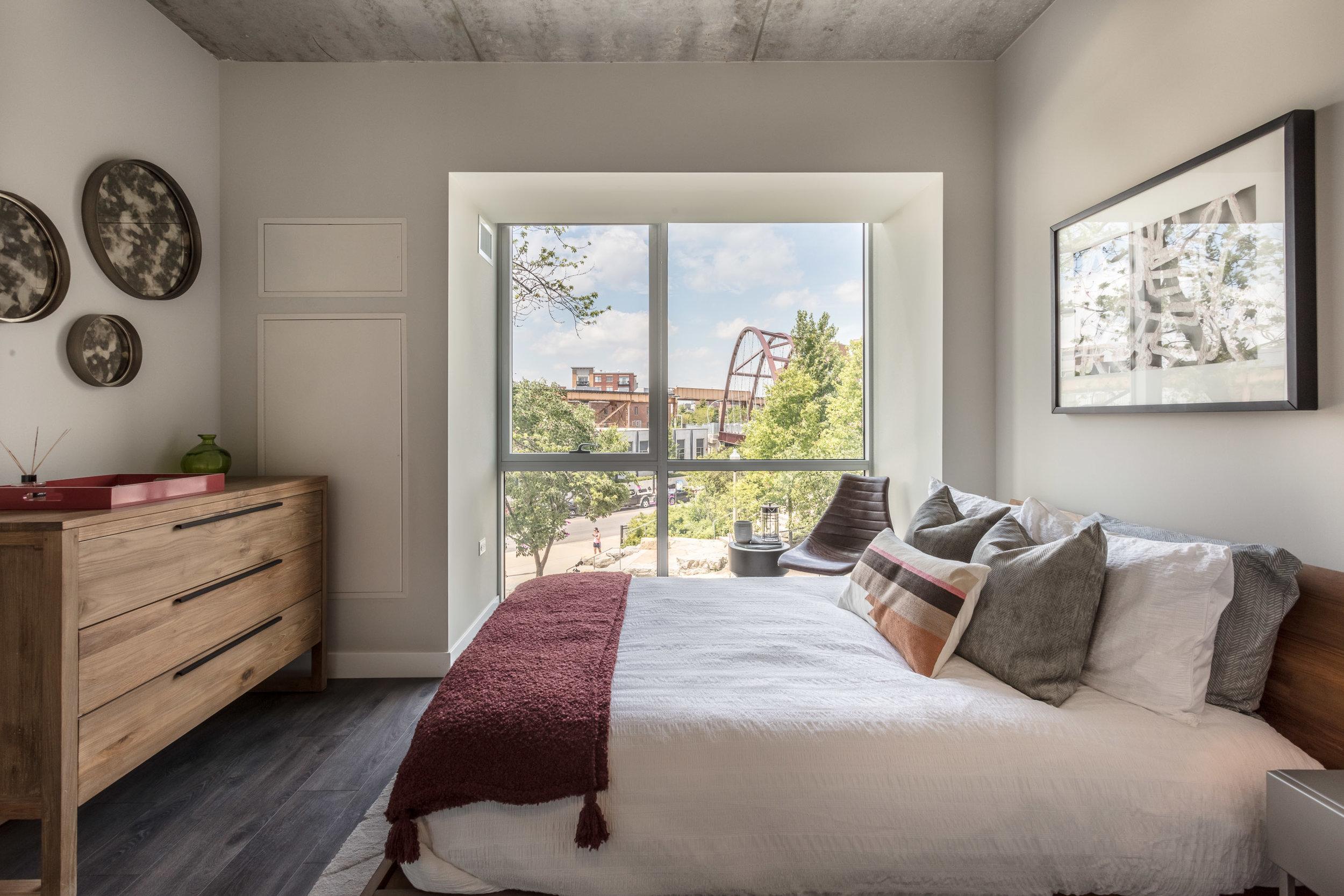 ONE BEDROOM -