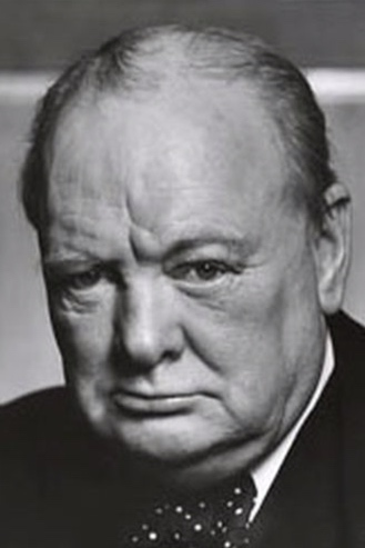 Winston Churchill is widely regarded as a strong leader.