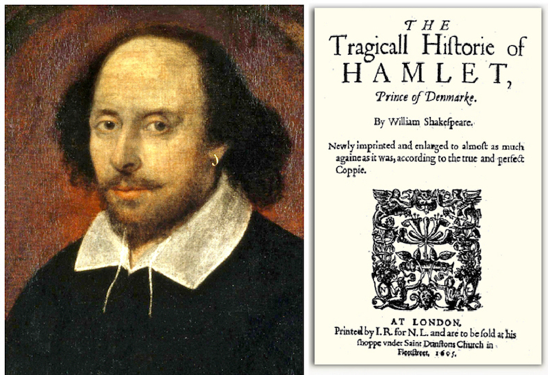 william shakespeare and the second quarto of hamlet.