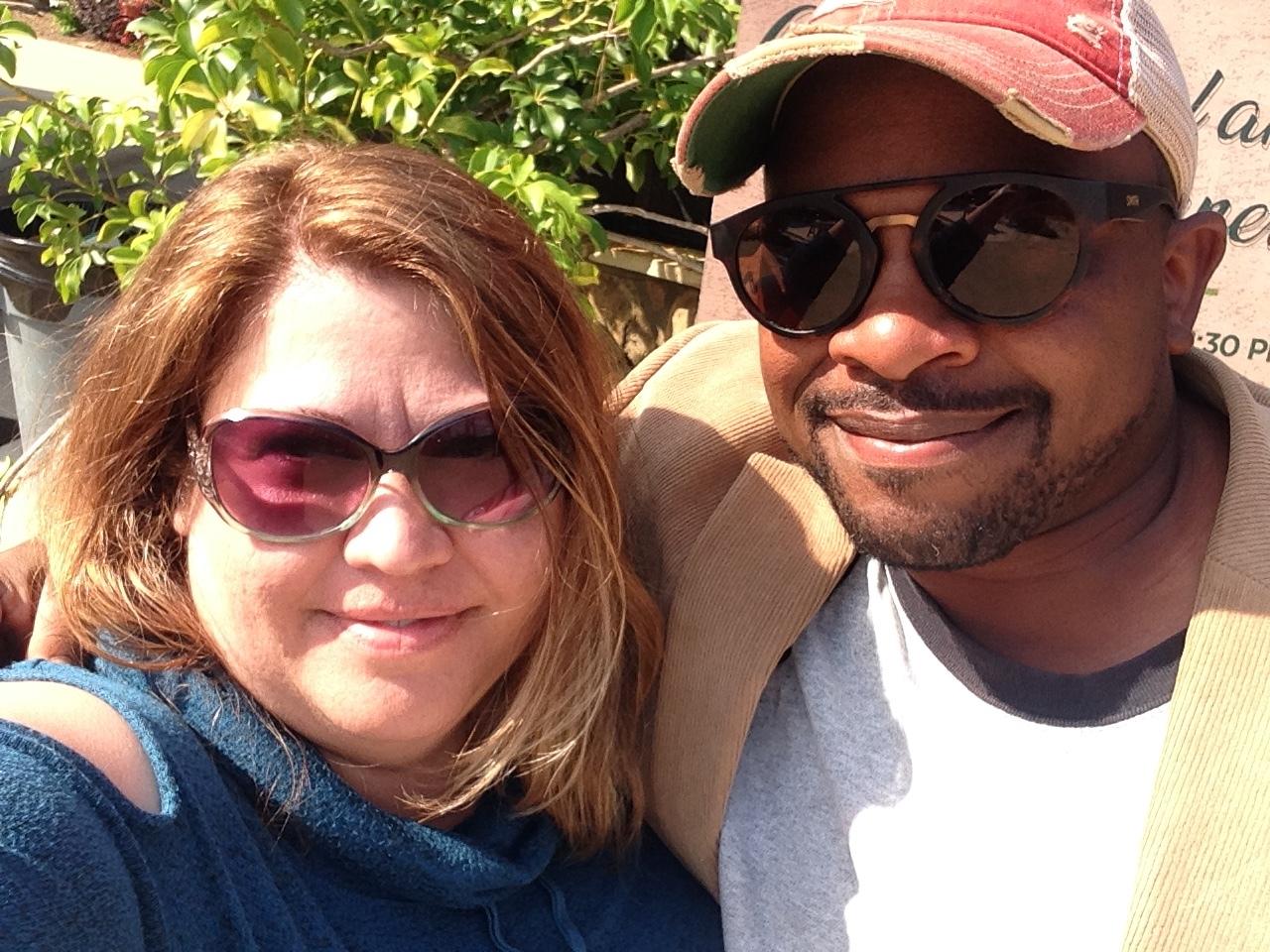 Me and Jon Jackson of Comfort Farms