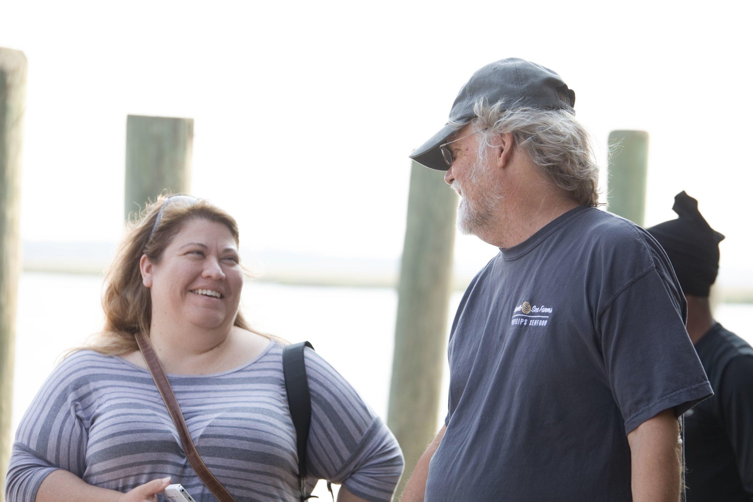 Interviewing Captain Charlie of Sapelo Sea Farms