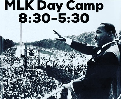 2018 is here! Join us for MLK day camp! A day of fun, art, but most importantly service! Send you kids to a safe place while they can help others! Register at nlartsorg@gmail.com!