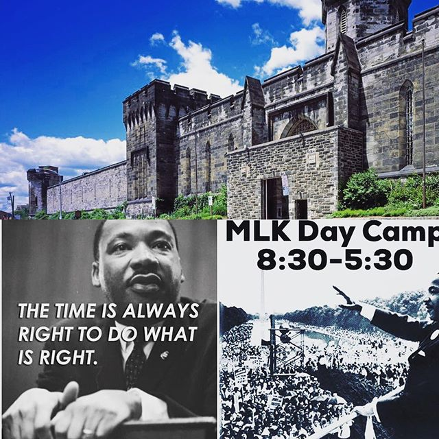 Don't forget to register for Monday's camp! We are creating sculptures for foster children, going to @easternstate penitentiary to listen to Dr. King's speeches and getting a visit from @starnewsphilly. #nlarts #schoolsoutweareopen #camp #nothernliberties #philadelphia #MLK #service #honoryourhero