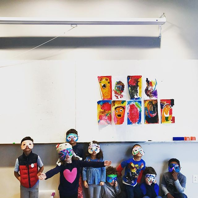 #masks #wintercamp2017 #nlarts