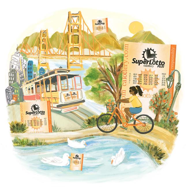 CA Lottery Illustration: San Francisco