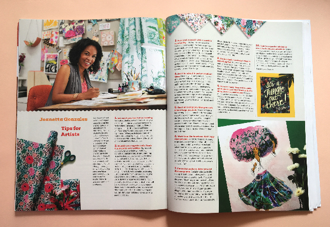 Uppercase Magazine / Issue 41 / Jeanetta Gonzales's Tips for Artists