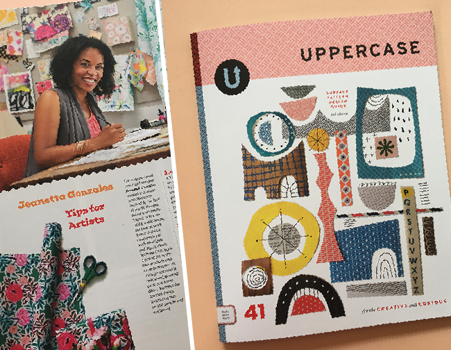 Uppercase Magazine / Issue 41 / Jeanetta Gonzales