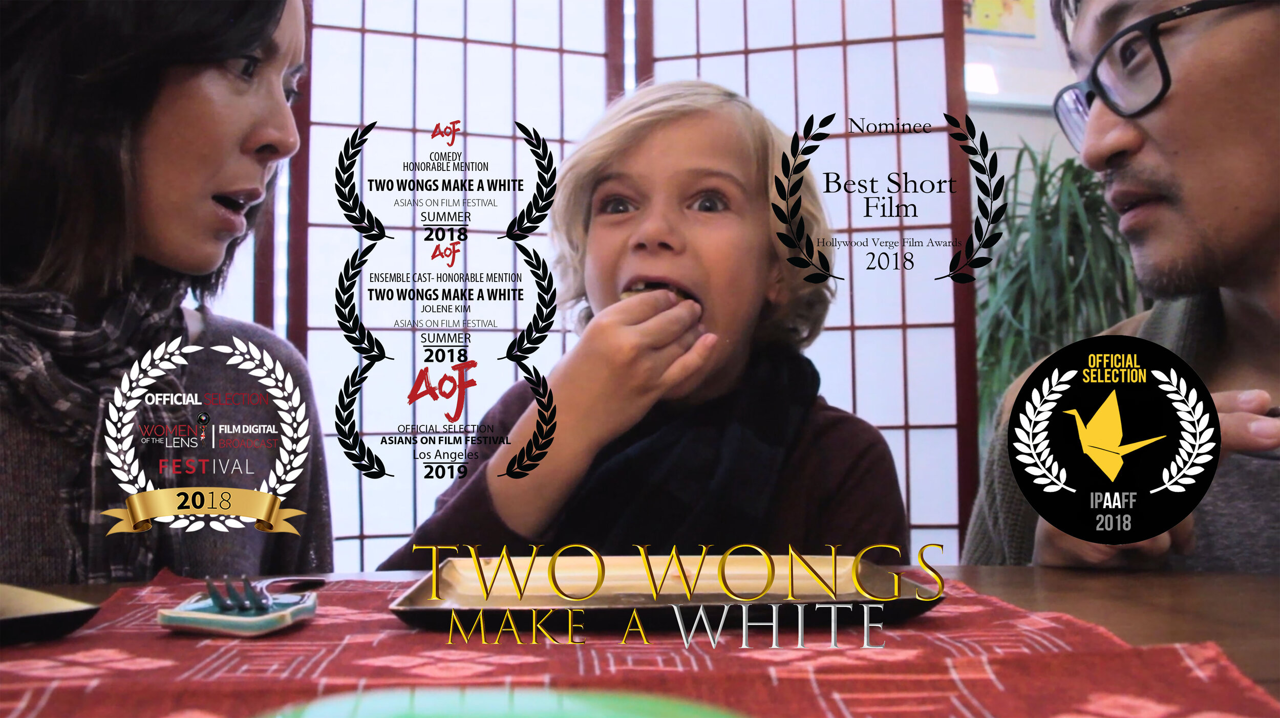 TWO WONGS MAKE A WHITE