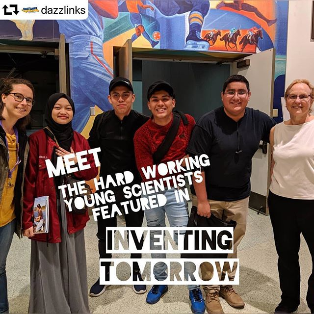 #repost @dazzlinks ・・・ A highlight of our #nsta2019 experience was Inventing Tomorrow, the INCREDIBLE film about young people channeling their energy, passion, knowledge and creativity towards environmental change. WATCH IT, SHOW IT TO YOUR STUDENTS, SPREAD THE WORD!! Aaaaand we got to meet some of these inspiring scientists and activists!! Thank you @inventingtomorrowmovie and @official_nsta  #inventingtomorrow #pbs #filmspiration #stem #bethechange #learnbydoing #solveproblems #mustsee #younginventors #environmentalscience #inspirestudents #forteens #innovation #inventions