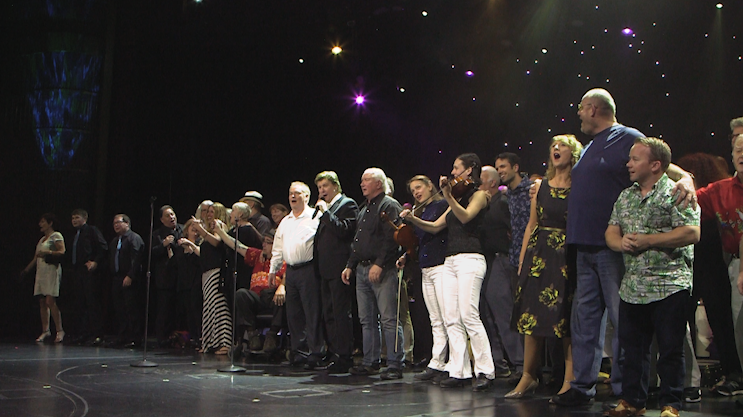The whole group of Irish Stars on Stage.png